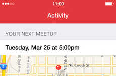 Gathering-Organizing Apps - The Meetup App Helps You Find Where Your Groups are Getting Together