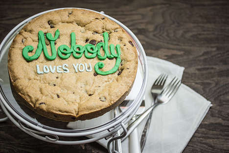 Offensive Typographic Treats - The Bold Bakery's Crudely Decorated Baked Goods Use Lots of Profanity
