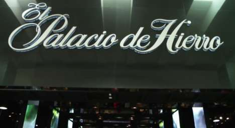 Upscale Sports Displays - Palacio de Hierro's Digital Displays Carry Out Sports Brand Promotions