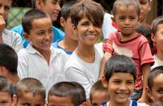 Fashionable Food Campaigns - Halle Berry is Helping Raise Funds For This World Food Day Campaign