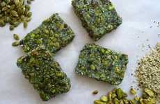 Algae Snack Bars - This Green Snack Bar is Made with Superfoods Like Spirulina