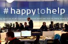 Travel Aid Campaigns - KLM's Happy to Help Campaign Assists KLM & Non-KLM Travelers