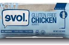 Frozen Gluten-Free Burritos - Evol's Gluten-Free Burrito is Made with Love and Hormone-Free Chicken