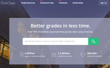 Online Educational Communities - OneClass is a Startup Focused on Getting Students Better Grades