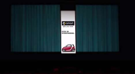 Micro-Sized Theater Ads