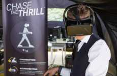 Virtual Car Chase Games - Nissan's Chase the Thrill Immerses You in an AR Car Chase on Foot