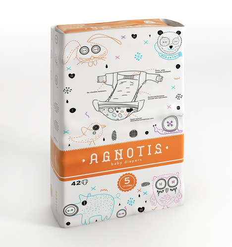Quilted Diaper Packaging