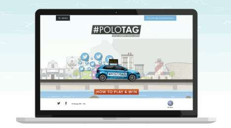 Gamified Test Drives - Volkswagen's Fun Test Drive Challenges People in a City-Wide Game