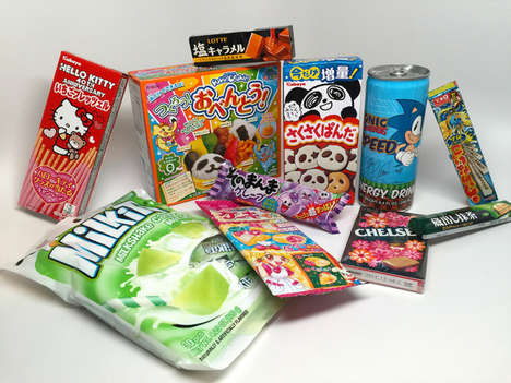 Japanese Candy Deliveries - Japan Crate Ships Subscription Mystery Boxes of Asian Sweets Every Month