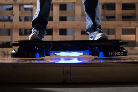 Futuristic Hovering Skateboards