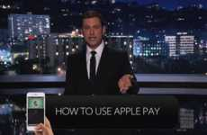 Hilarious Payment Guide Spoofs - Jimmy Kimmel Explains Using Apple Pay in an Un-Useful Way