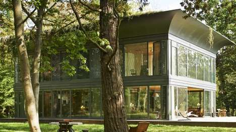 Energy-Generating Prefab Homes - The P.A.T.H. Home Creates More Energy Than It Uses