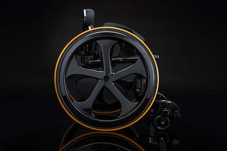 Sleek Minimalist Wheelchairs