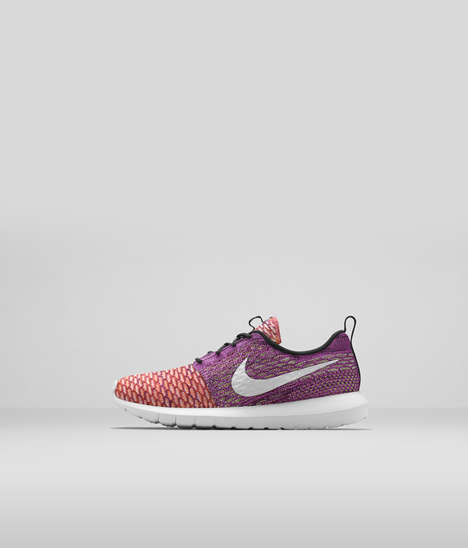 Yarn-Threaded Shoes