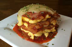 Cheesy Bacon Lasagna - This Dish From The Vulgar Chef Contains Cheesy Macaroni and Bacon Weaves