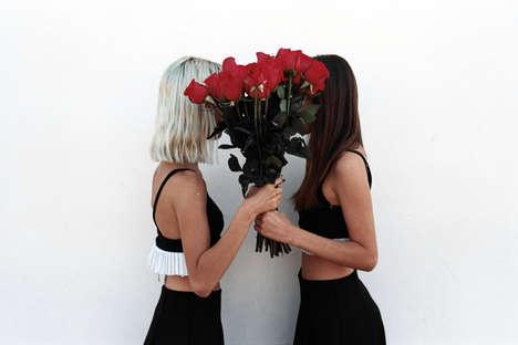 Romantic Threesome Editorials