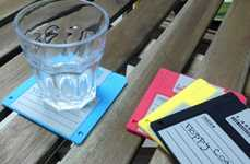 Retro Floppy Coasters