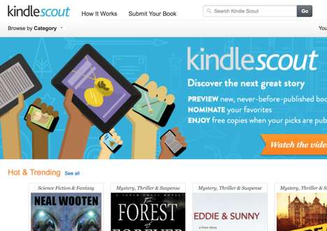 Crowdsourced Book Publishers