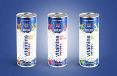 Energetic Vitamin Drinks - This Vitamin Drink Highlights the Power of a Simple, Healthy Beverage