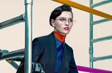 Chic Androgynous Editorials