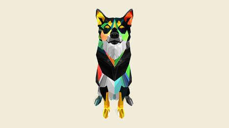 Geometric Wildlife Art (UPDATE)