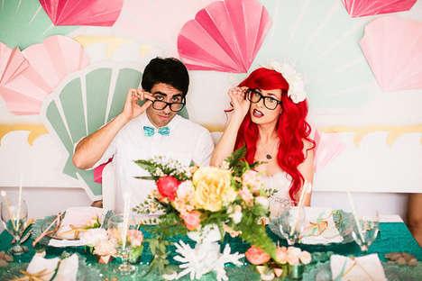 Disney Wedding Cosplays
