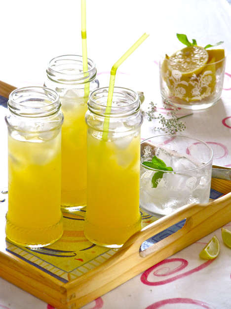 Revitalizing Mango Lemonade