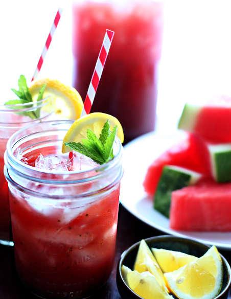 Invigorating Fruity Lemonades