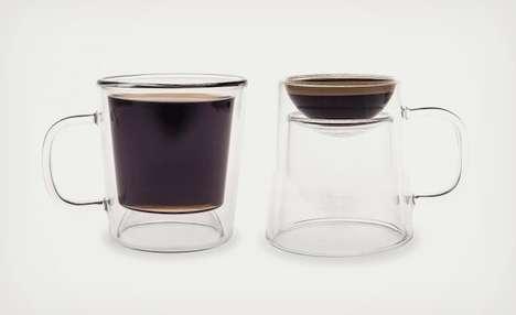 Topsy Turvy Coffee Mugs