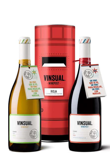 Postal Wine Packaging