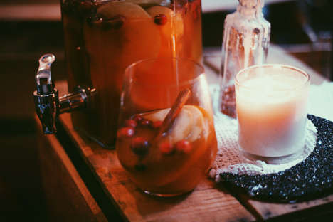 Autumnal Alcoholic Beverages
