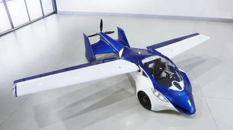 Futuristic Flying Cars