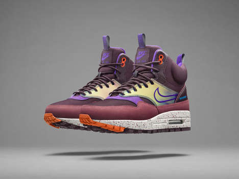 Winter Running Shoes - The Nike Air Max 1 Sneakerboot is Designed For Winter Running