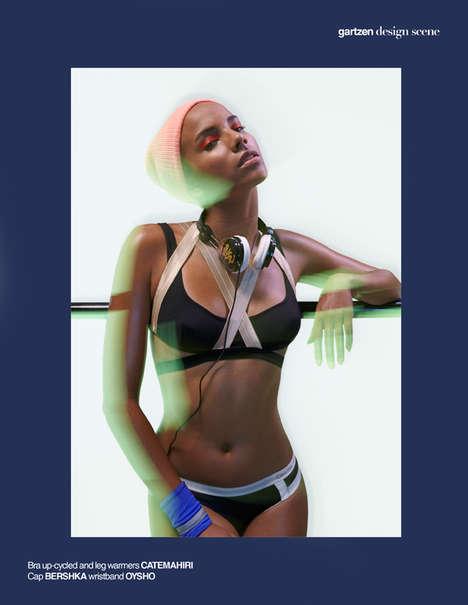 Sporty Swimwear Editorials