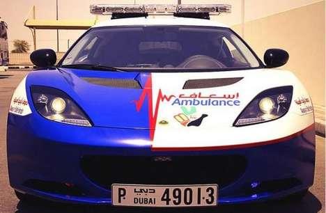 Life-Saving Supercars