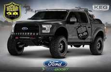 Adrenaline-Spiked Trucks - The Ford Vaughn Gittin Jr. Can Be Used For Drifting and Jumping