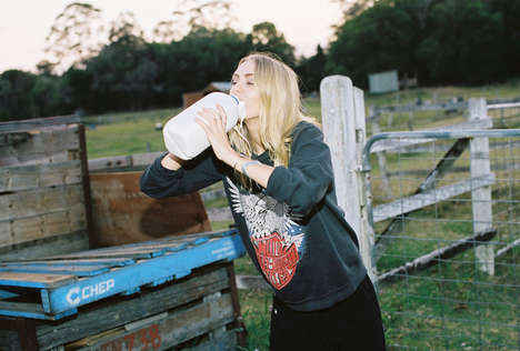 Hipster Farmgirl Editorials