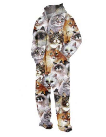 Fanatical Feline Onesies
