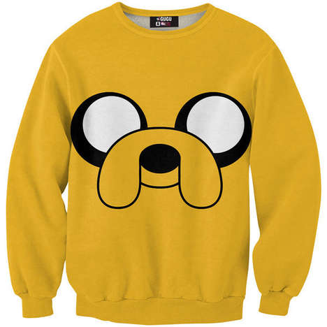 Cartoon Canine Sweaters