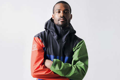 Colorful Co-Branded Outerwear