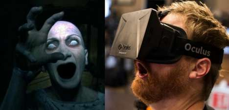 Virtual Reality Horror Films - With Oculus Rift, You Can Watch a Horror Movie in First-Person