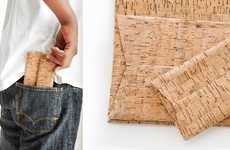 Bottle Stopper Tech Accessories - These Cork Tablet Cases Are Made Using Eco-Friendly Materials