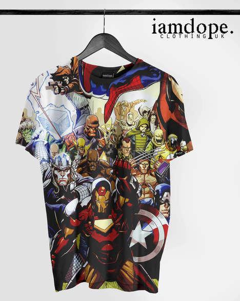 Graphic Comic Book Streetwear