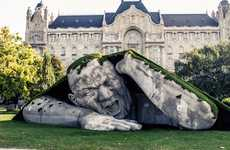 Sleeping Giant Sculptures