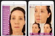 Facial Alteration Apps - This App's Visualization Technology Simulates JUVEDERM Treatments