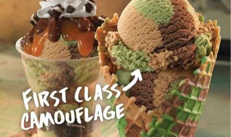 Camouflage Ice Cream