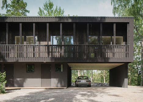 Earthy Swedish Villas