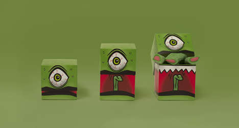 Monstrous Candy Packaging - This Candy Packaging Design is Filled with Tricks and Treats