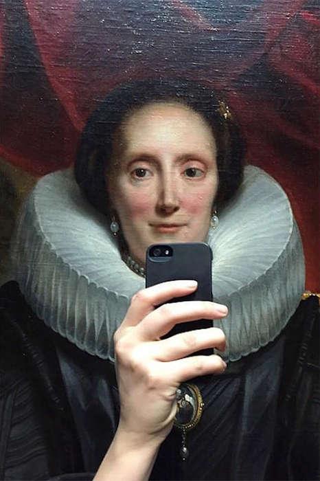 Historical Portrait Selfies