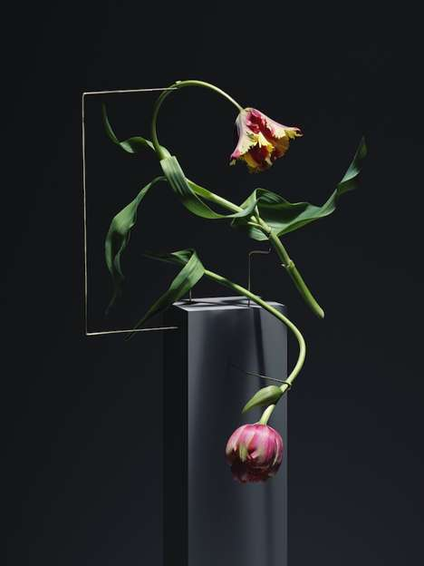 Shapely Floral Sculptures